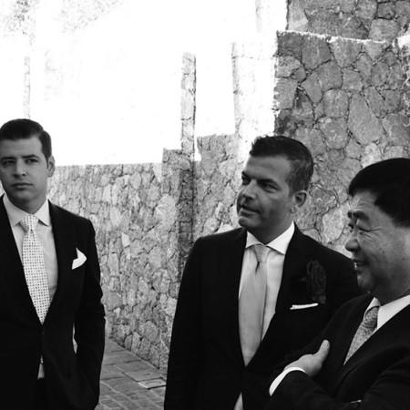 men elegant suit