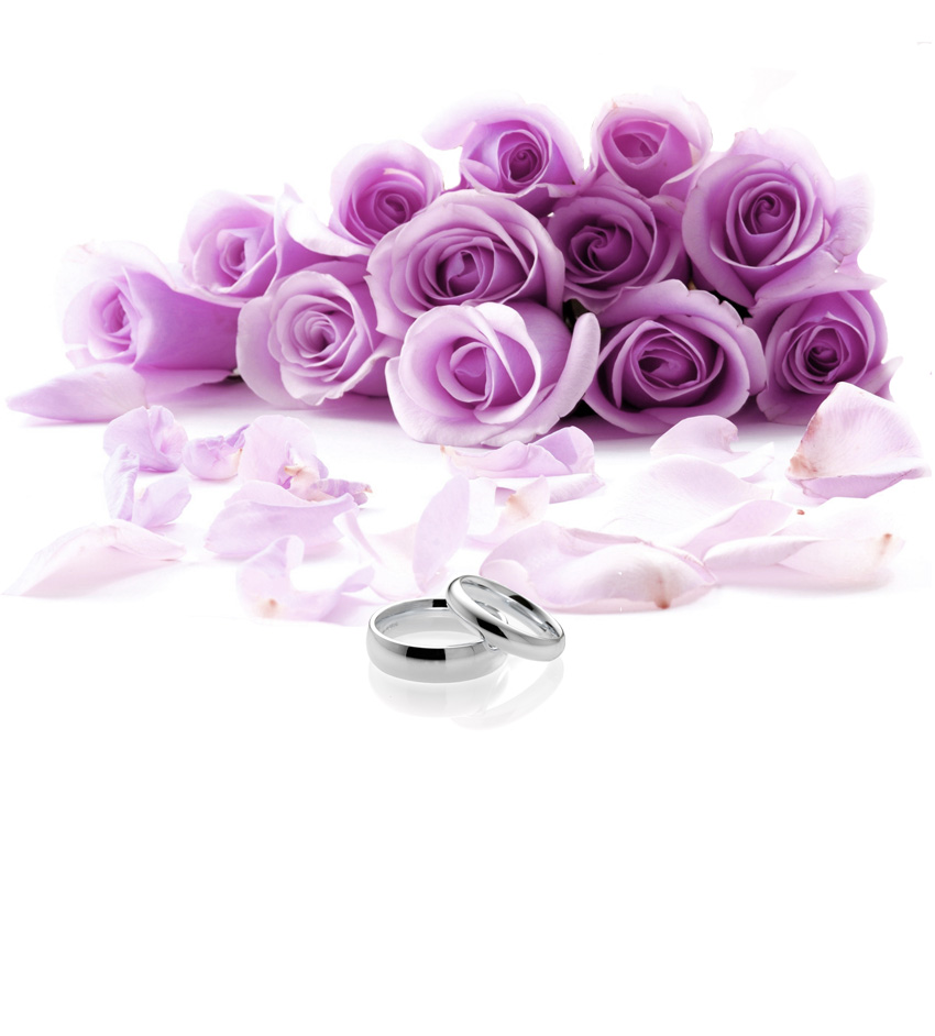 romantic-wedding-roses-rings